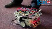 Школьник из Челябинска создал робота-поводыря