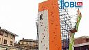 15-метровый скалодром построили двое челябинцев на собственные деньги