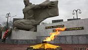 В Троицке 70 лет Победы отметили в обновленном сквере памяти
