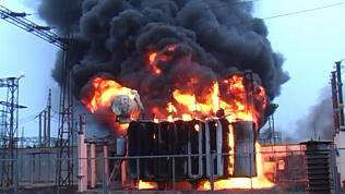 В ночном пожаре пострадала территория «Чебаркульской птицы»