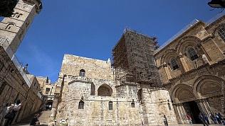 Гробница Иисуса Христа осталась нетронутой, несмотря на землетрясения и пожары