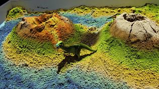Интерактивный песок для детсадовцев продемонстрировали в Челябинске