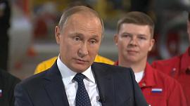 Для чего работает Путин? Интервью Президента в Челябинске