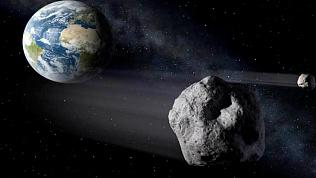Два космических объекта обнаружили на подлете к Земле