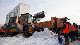 Бизнесменов крупно оштрафовали за вывоз снега в запрещенные места