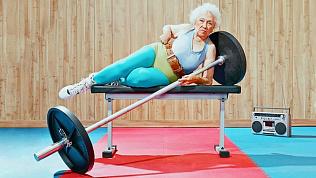 Фитнес от златоустовских бабушек