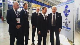 Дмитрий Медведев запустил нефтяные насосы в Челябинске