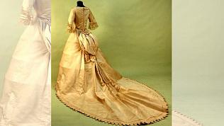 Свадебные наряды прошлого века показали Челябинцам