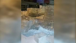Подростков из Трехгорного наказали за уничтожение ледового городка