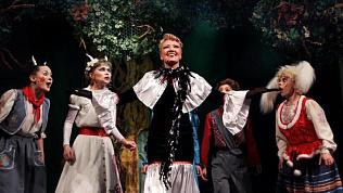 Волк накажет семерых козлят на сцене Молодежного театра
