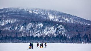 Туристы заблудились в горах в парке «Зюраткуль»