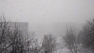 Метель обрушилась на все районы Челябинска