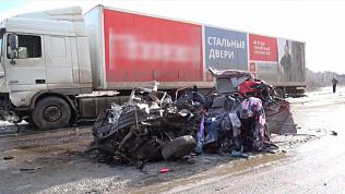 Последствия страшной аварии недалеко от Златоуста сняли на видео