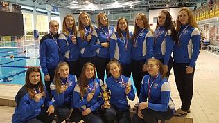 «Динамо-Уралочка» из Златоуста выиграла «бронзу» на Чемпионате России по водному поло