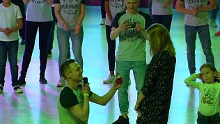 Челябинский танцор сделал предложение своей подруге на Кубке губернатора по танцевальному спорту