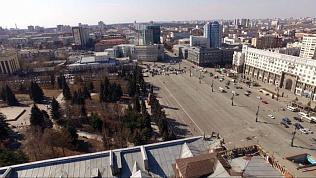 Весеннее преображение Челябинска с большой высоты