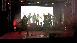 Вооруженные люди в масках ворвались на церемонию премии «Призвание артист»