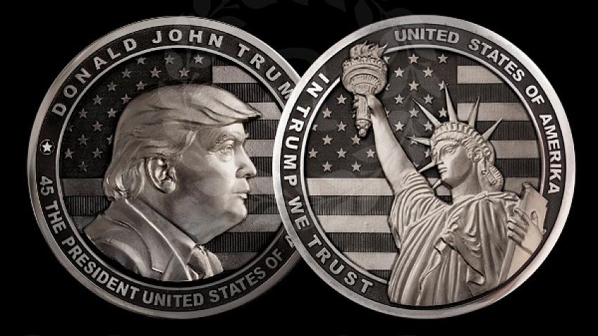 Монеты с Дональдом Трампом от оружейников Златоуста стали предметом судебного спора