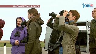 В Донгузловский заказник прилетели краснокнижные птицы
