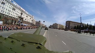 Видеорепортаж из танка