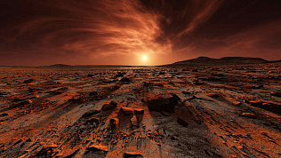 Ученые выяснили, почему исчезла жизнь на Марсе