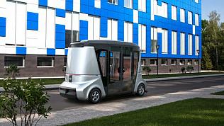 В России создадут беспилотный автобус «Матрешка» на 20 человек