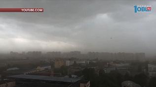 Ослабевший «московский ураган» ожидают в Челябинской области