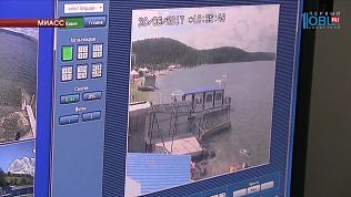 Спасатели с помощью камер контролируют порядок на озере Тургояк
