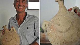 Смайлик из прошлой эры обнаружили археологи в Турции