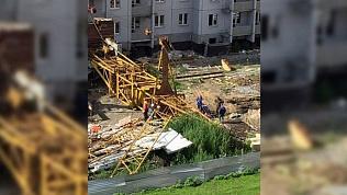 Установлена причина падения башенного крана на рабочего и известно его состояние
