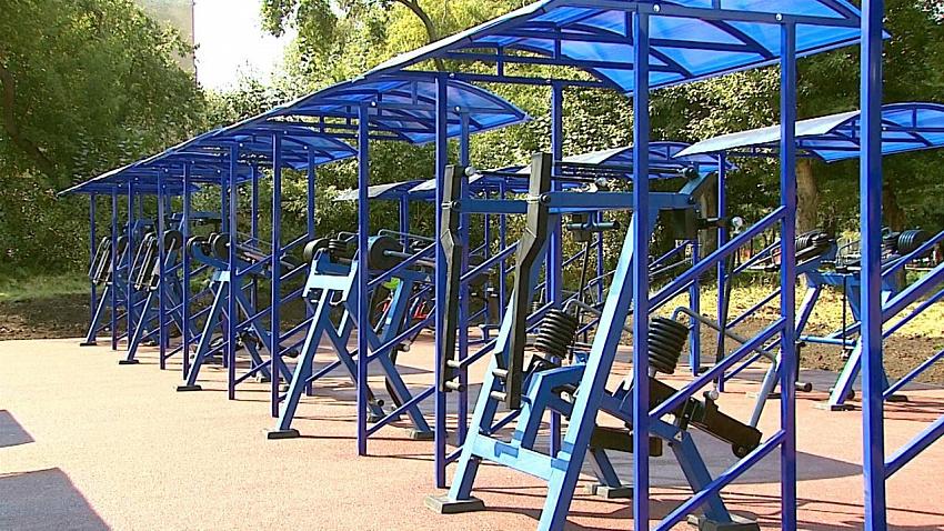 В Саду Победы в Челябинске появится спортивный комплекс