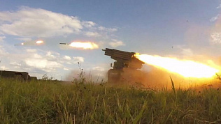 Ракетные и артиллерийские войска нанесли боевые удары под Чебаркулем