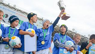 Все кубки «Метрошки» завоевали юные футболисты из Карталов