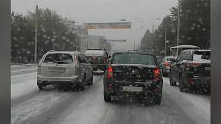 Челябинскую область засыпало снегом. Подборка видео