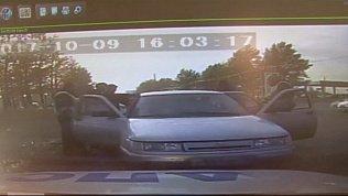 Госавтоинспекторы устроили погоню за автомобилем с героином