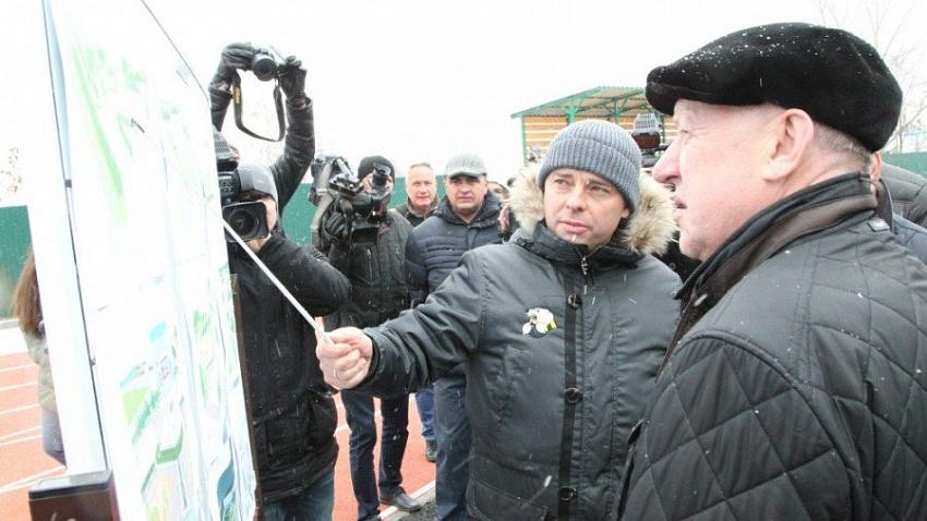 Спортивный комплекс построили за полтора года в Новосинеглазово