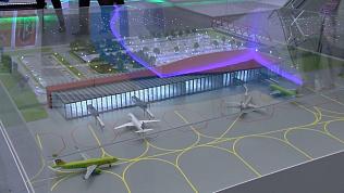 Объемную модель нового Челябинска представили на выставке