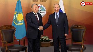 Путин и Назарбаев встретились в Челябинске