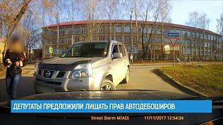 Депутаты предложили лишать прав автодебоширов