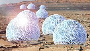 Проект города на Марсе разработали американские инженеры и архитекторы