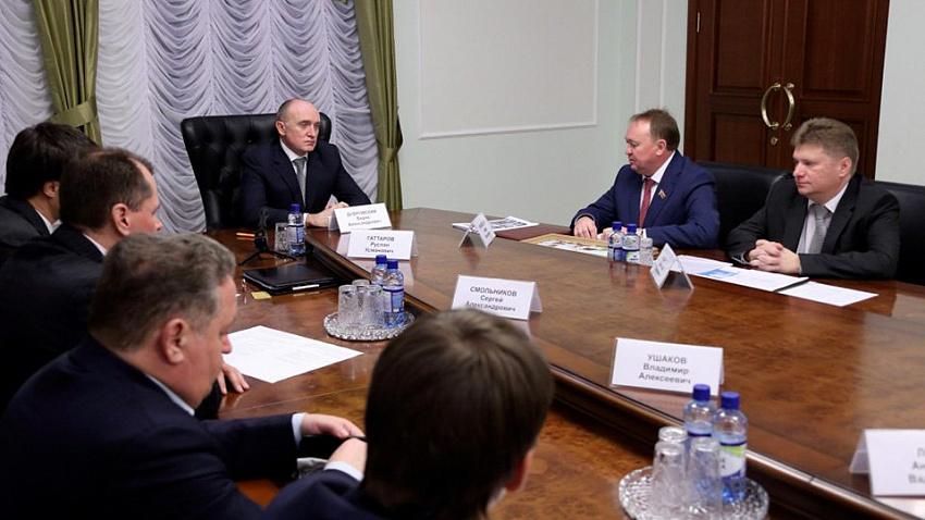 Белорусская компания готова инвестировать в производство лифтов на Южном Урале