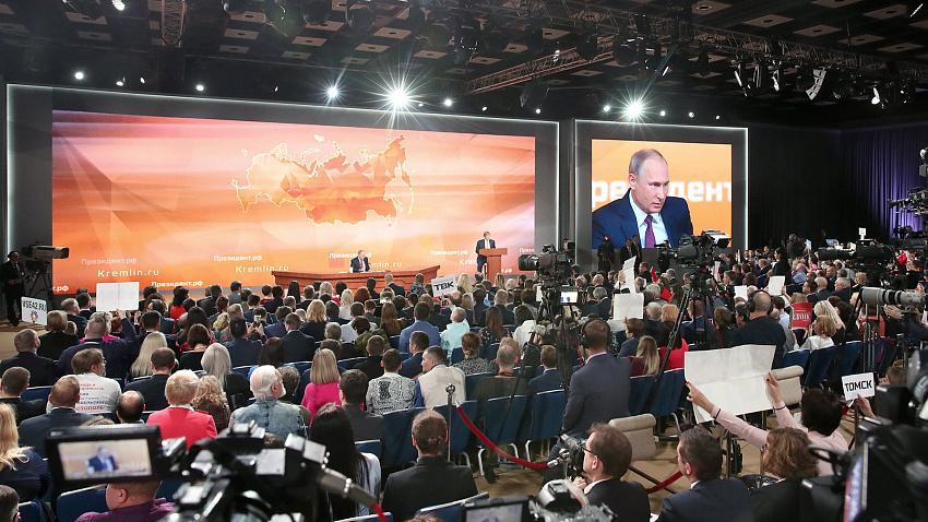 Владимир Путин: нужно искать баланс между экологией и экономикой