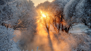 Минус 33 градуса установятся на выходные на Южном Урале