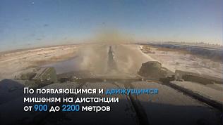 Уральские военные осваивают экстремальное вождение танков