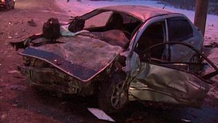 В ДТП на Бродокалмакском тракте четыре человека погибли, трое доставлены в больницы