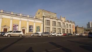 Здание картинной галереи. Историческая прогулка по Челябинску