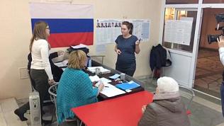 Избирательные пункты работают в лечебных учреждениях