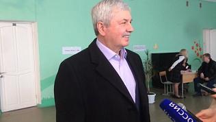 Владимир Мякуш отдал свой голос за процветающую Россию
