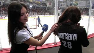 Возлюбленная Максима Якуцени показала дизайнерский костюм для серии плей-офф и раскрыла семейные секреты
