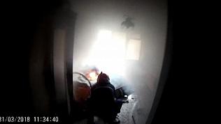 Пожар в общежитии Кыштыма едва не унес жизнь 58-летнего инвалида